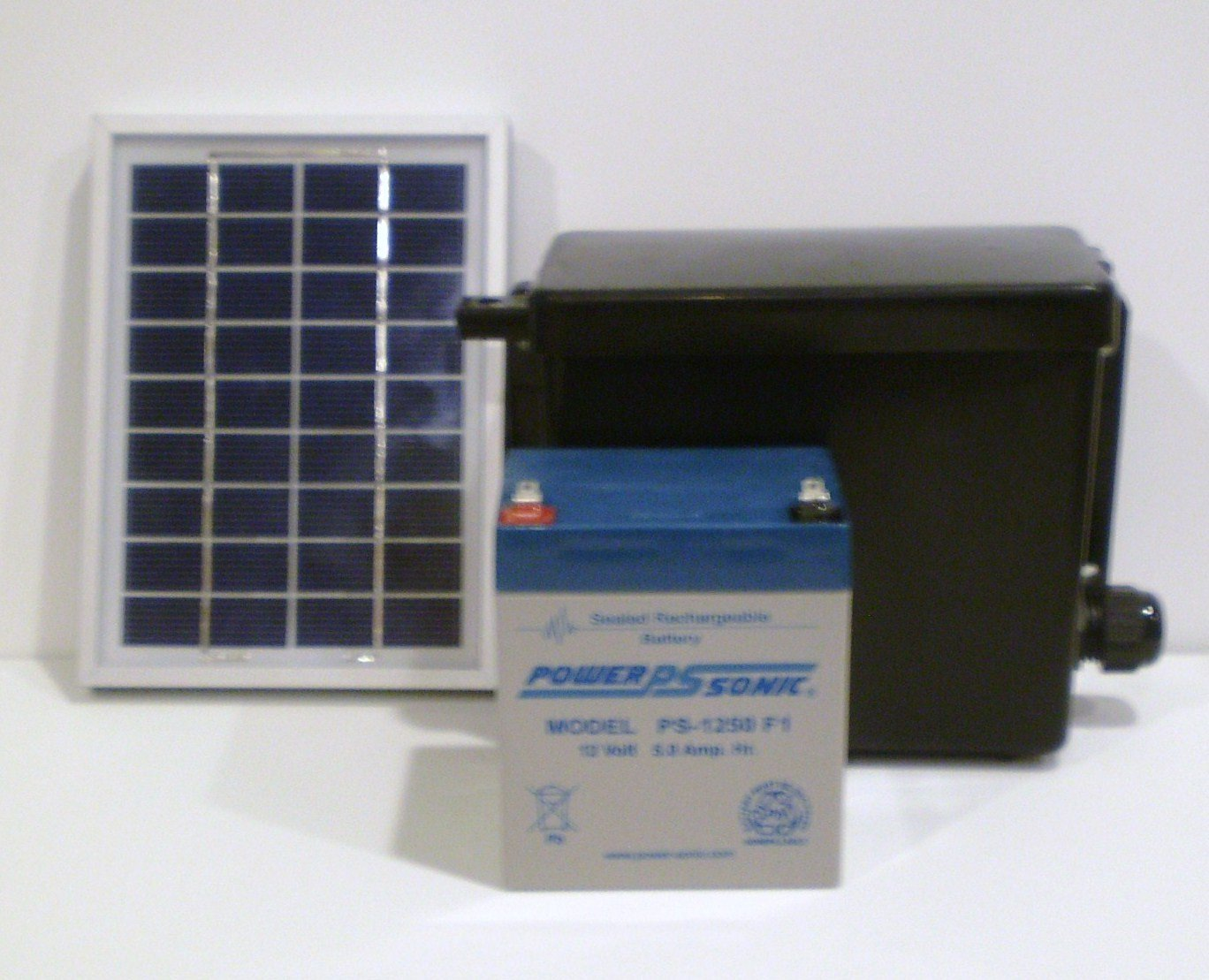 Solar Power System for Wireless Sensors