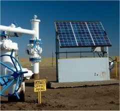 Solar Powered Gas Meter