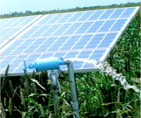 Solar Powered Irrigation