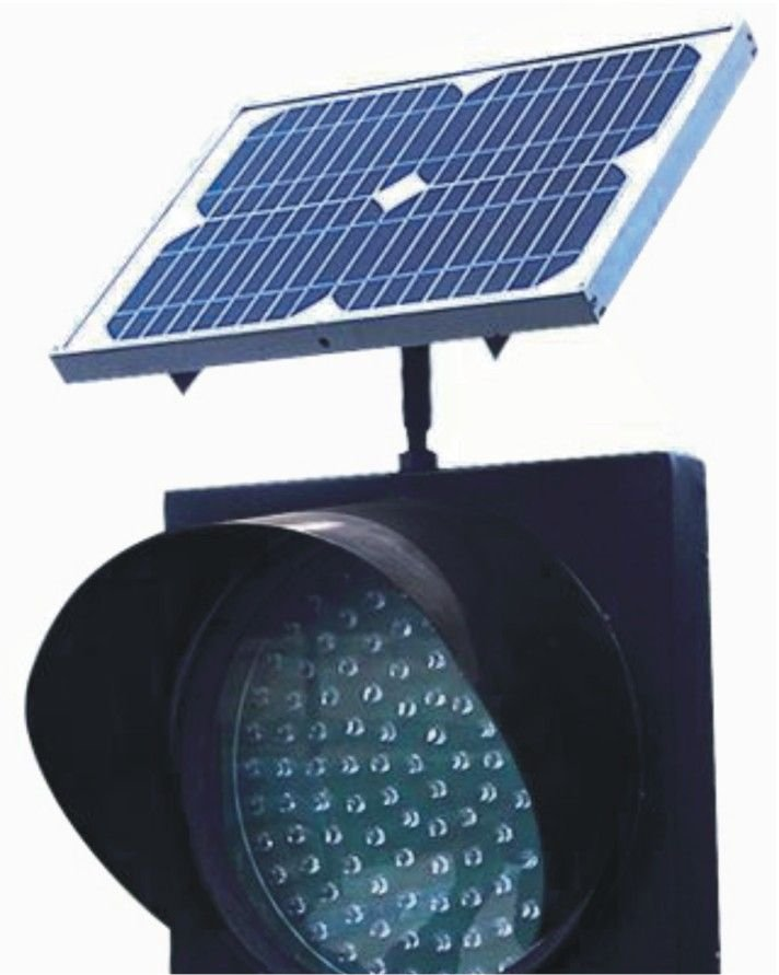 Solar Powered Traffic Signal