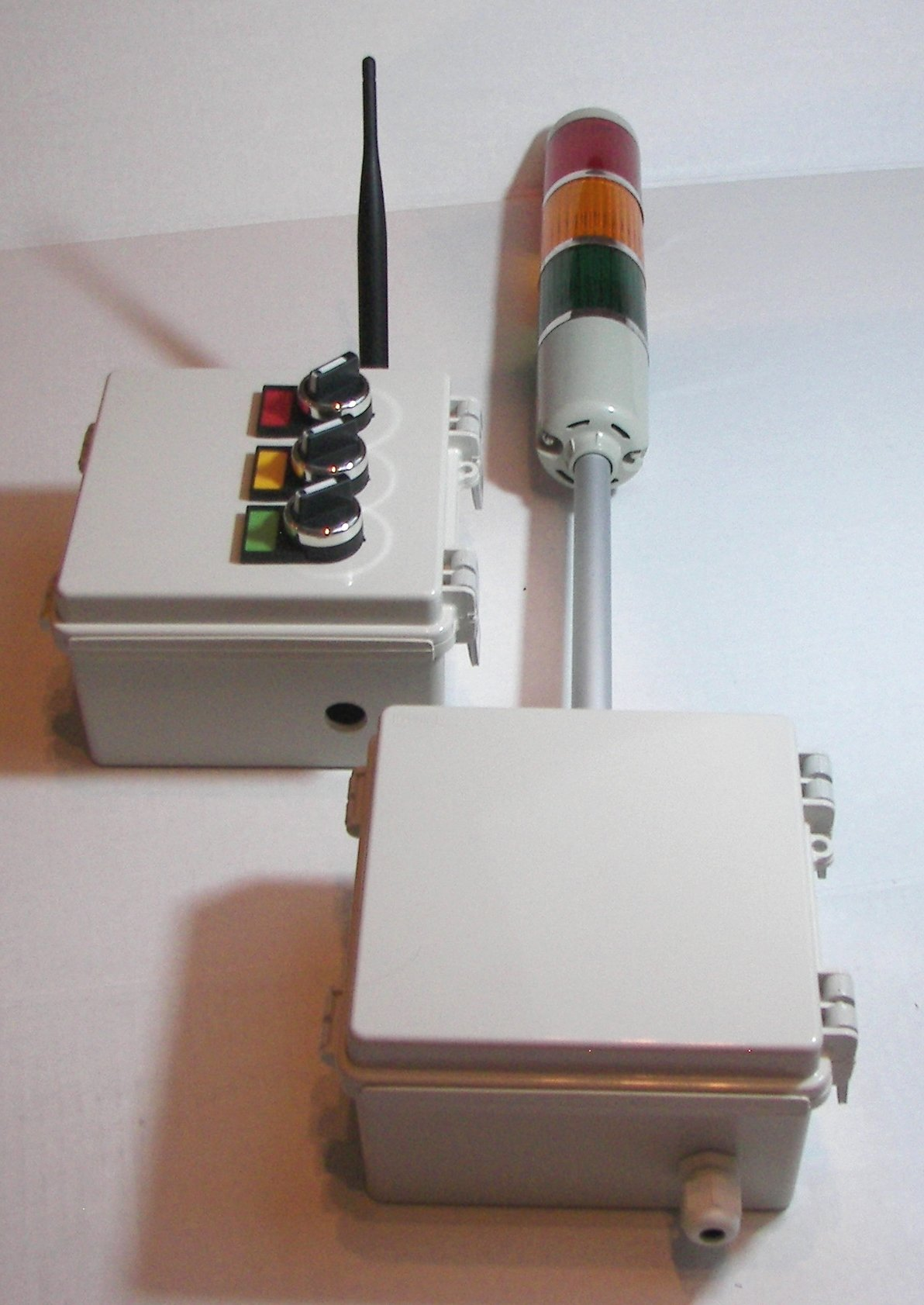 Wireless Tower Light Indicators / Switch Control Box